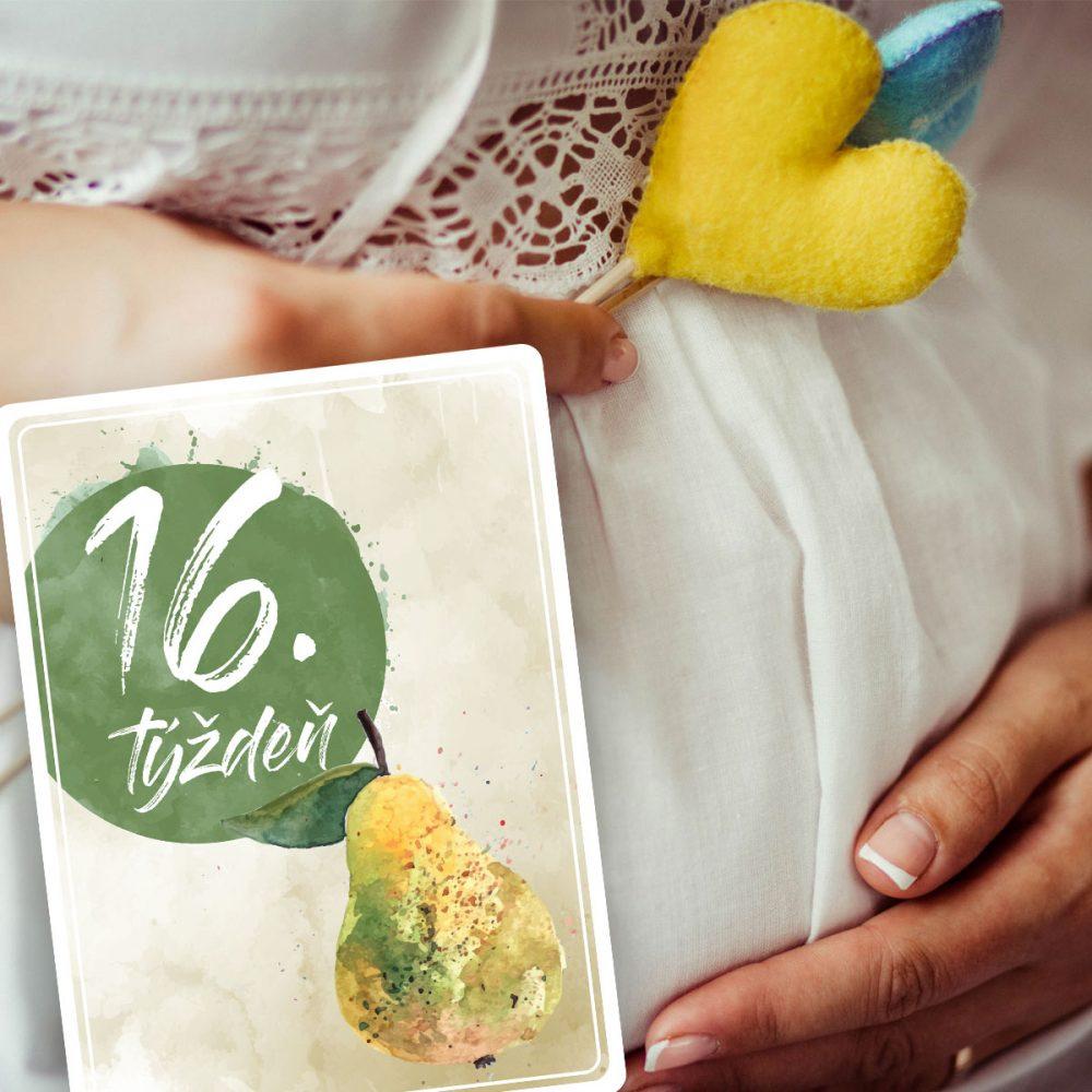 Tehotenské míľnikové kartičky