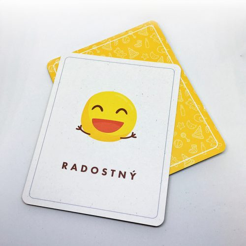 Edukačné kartičky - emócie