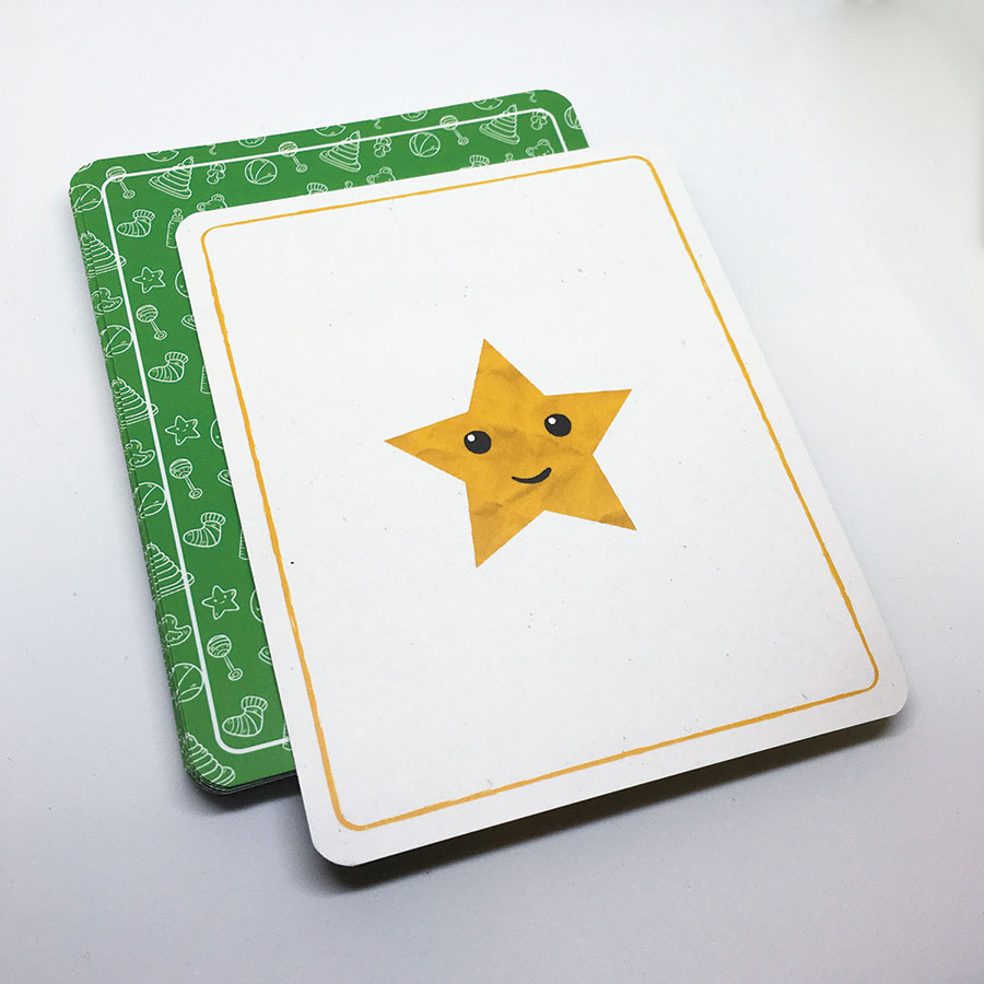 Edukačné kartičky - tvary a emócie