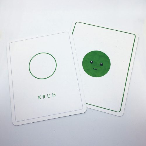 Edukačné kartičky - tvary