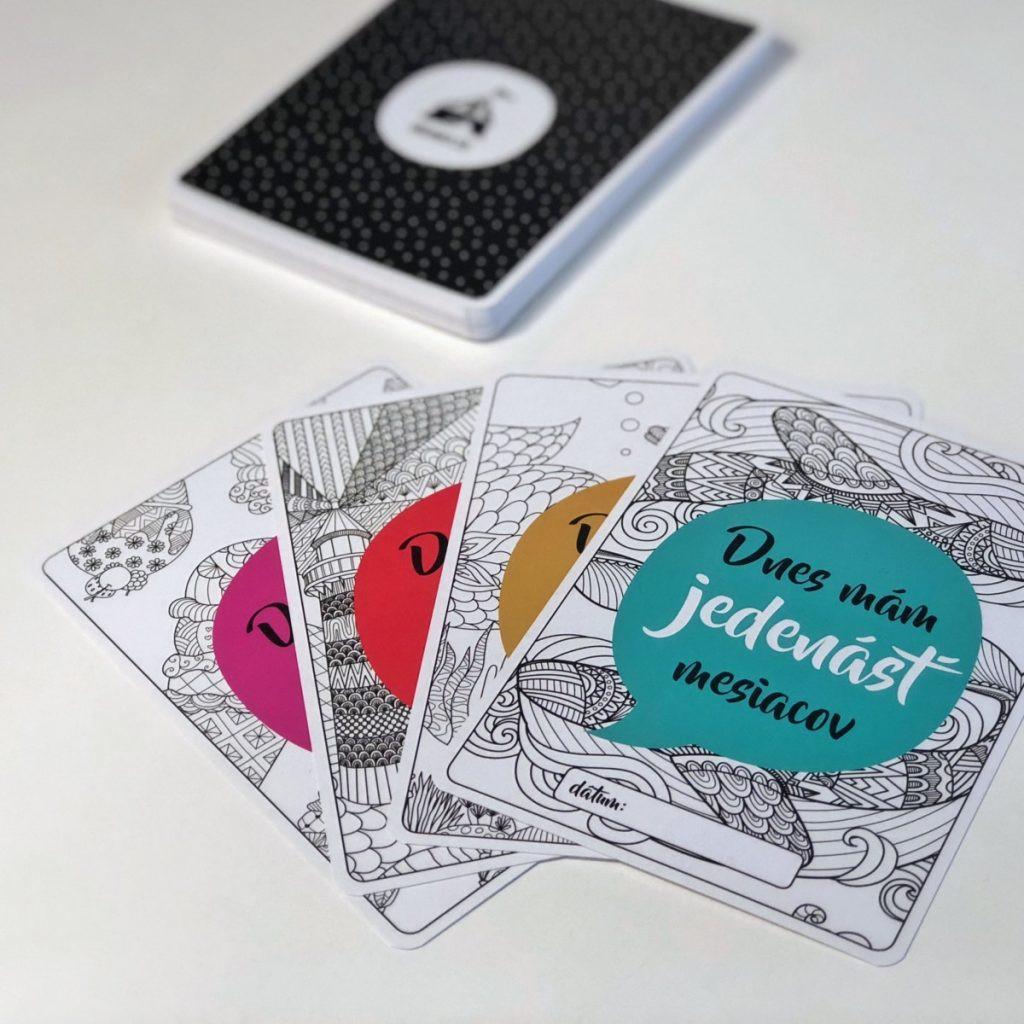 Výhodný set: Míľnikové kartičky pre prvý rok dieťatka + tehotenské