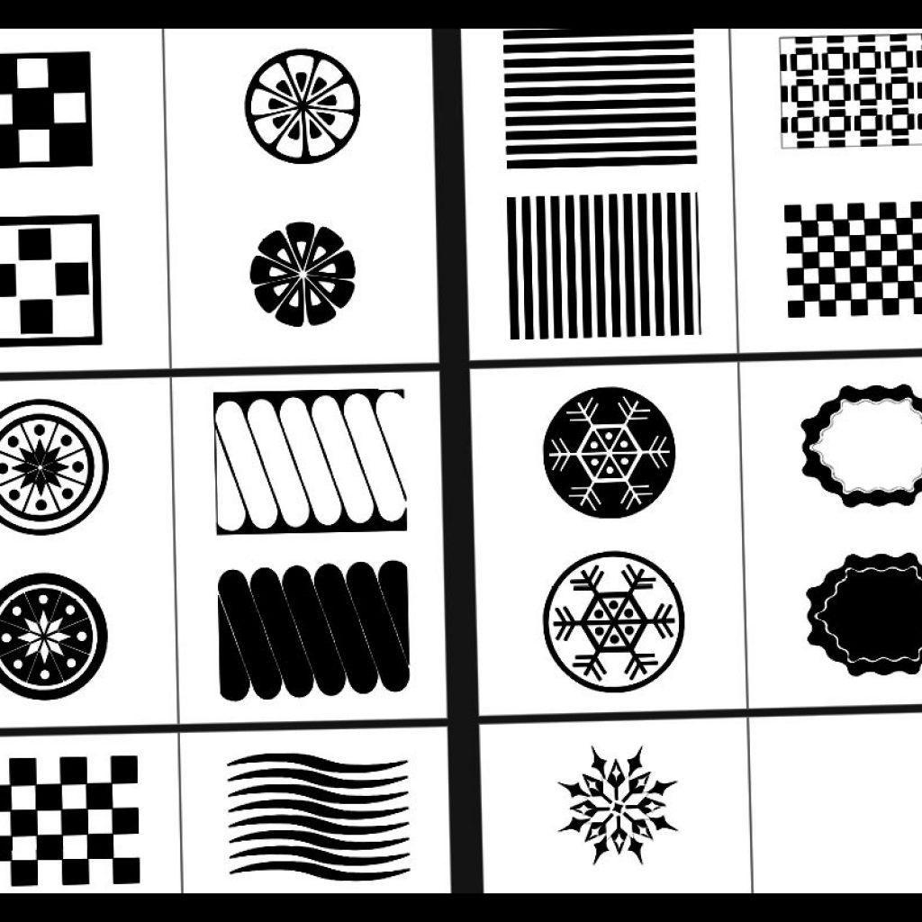 Ako vyrobiť čierno biele kontrastné kartičky (PDF na stiahnutie)